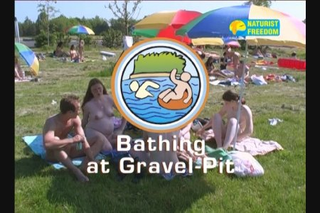 Bathing At Gravel Pit / Купание в гравийном карьере