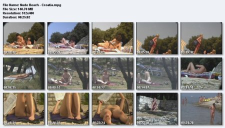 Nude Beach - Croatia / ���������� ���� - ��������
