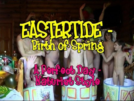 Eastertide - birth of spring. A perfect day naturist style