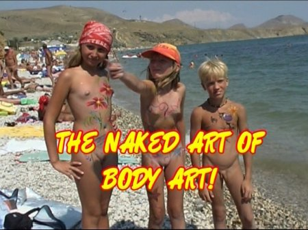 The naked art of body art