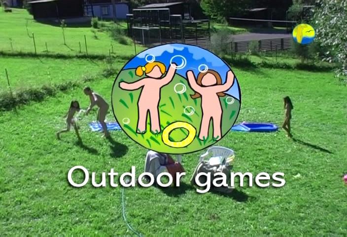 Naturist Freedom  Nudists Family at Farm Видео нудистов