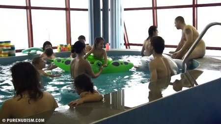Indoor swim exercise / Внутренний бассейн (перезалита)