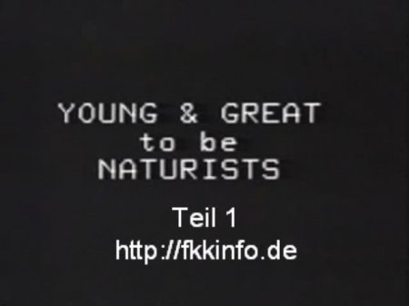 Young And Great to be naturists / Маленькие и большие нудисты (натуристы)