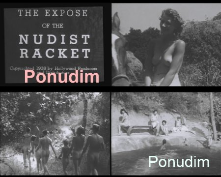The expose of the nudist racket (Retro-1938)