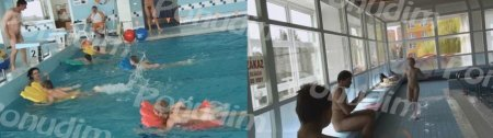 Poolside Activities 2 / Физкультура в бассейне 2