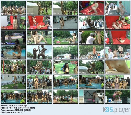 Kirbon's Nudes-a-Poppin' 2014 part 1 HD