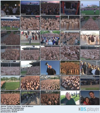 Spencer Tunick in Cleveland / ������� ����� � ���������