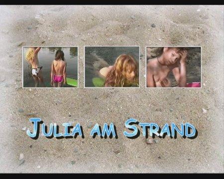 Julia am Strand / Джулия на берегу