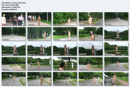 Nude In Public - Conny 2