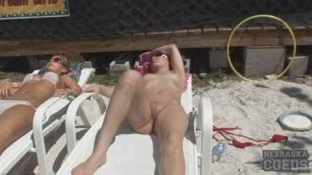 Naked Sunbathing At Florida Beach House