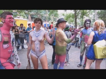 Annual Bodypainting Day 2016, New York Camera 2