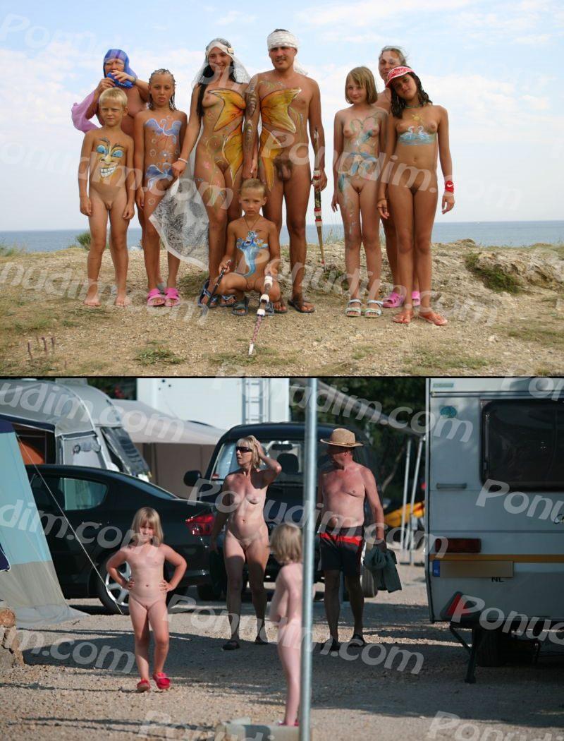 Натуризм фото  Фото нудистов на пляже семейный нудизм и