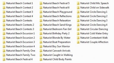 Collection from Admin 43 (family nudism and naturism)