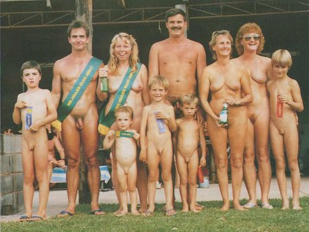 Sun of Nudism (family nudism, retro naturism)