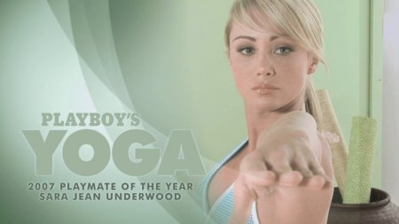 Yoga by Sara Jean Underwood (playboy, nude yoga)