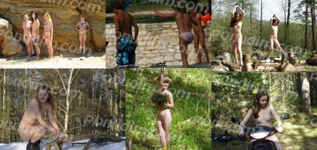 Free people 2 (family nudism, family naturism, young naturism)