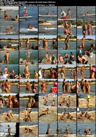 Wilde Bande (family nudism, young naturism, naked boys, naked girls, naked beach)