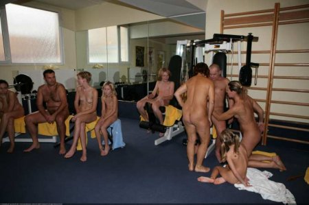Rec Room Naturists. Purenudism 2014 (family nudism, young naturism,  naked boys, naked girls)