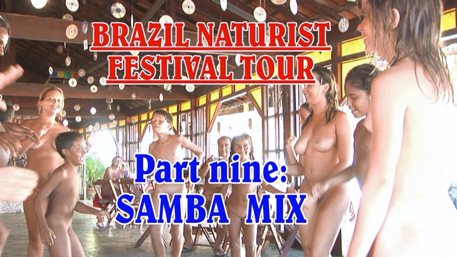 Of Naked brazil festival girls