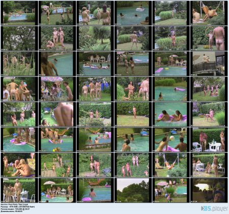 Havirov Pool Party Titel 2 (family nudism, family naturism, young naturism, naked boys, naked girls)