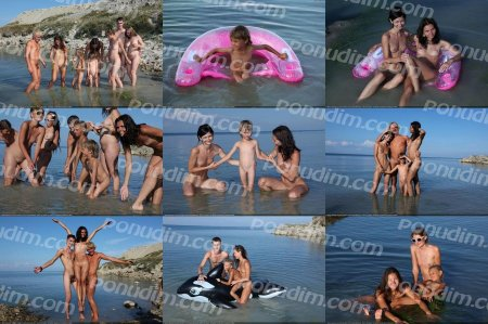 Early Morning Swim 6 (family nudism, family naturism, young naturism, naked boys, naked girls)