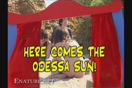 Here Comes the Osessa Sun (family nudism, family naturism, young naturism, naked boys, naked girls)