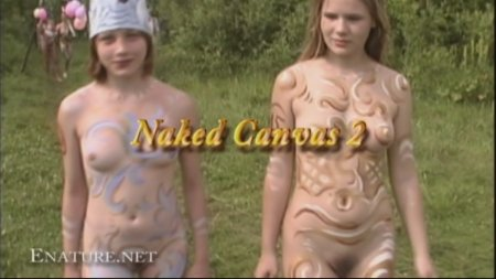 Naked Canvas 2 (family nudism, family naturism, young naturism, naked boys, naked girls)