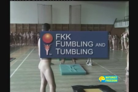 FKK Fumbling and Tumbling (family nudism, family naturism, young naturism, naked boys, naked girls)