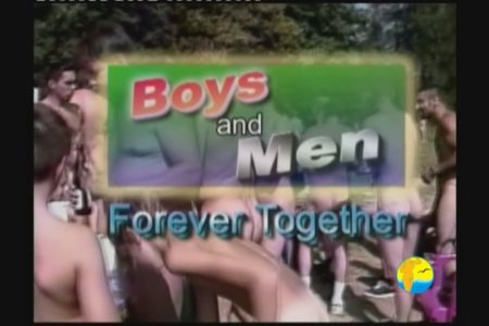 Boys And Men Forever Together  (family nudism, family naturism, young naturism, naked boys)