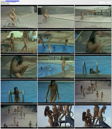 Сollection of fragments #13 (young naturism, naked boys, naked girls)