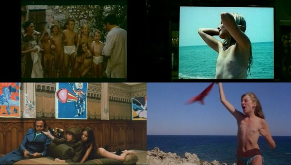 Сollection of fragments #15 (young naturism, naked boys, naked girls)