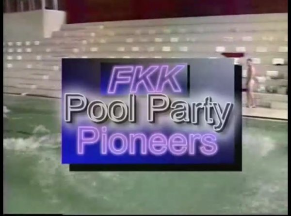 Pool Party Pioneers  (family nudism, family naturism, young naturism, naked boys, naked girls)