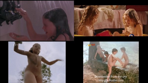 Сollection of fragments #21 (young naturism, naked boys, naked girls)