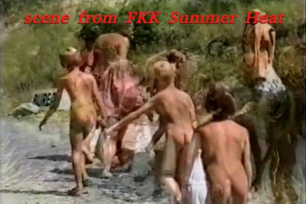FKK Summer Heat - france kids camp (family nudism, family naturism, young naturism, naked girls, naked boys)