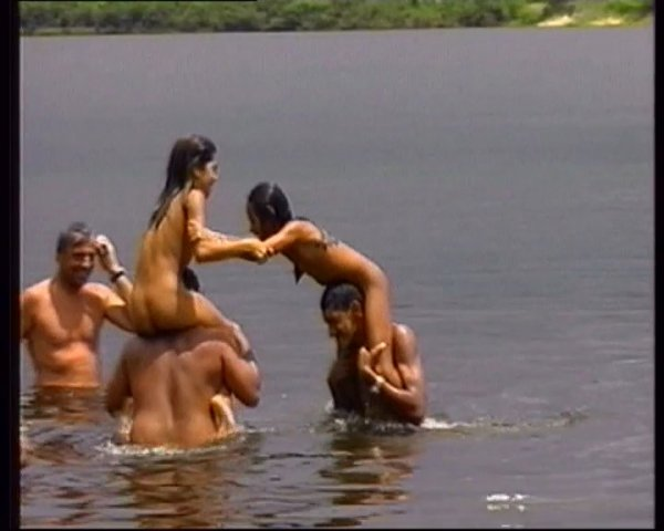 Naturists In The Rain Forest (family nudism, family naturism, young naturism, naked girls, naked boys)