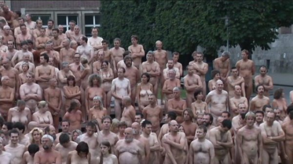 Spencer Tunick in Dusseldorf - August 6 2006