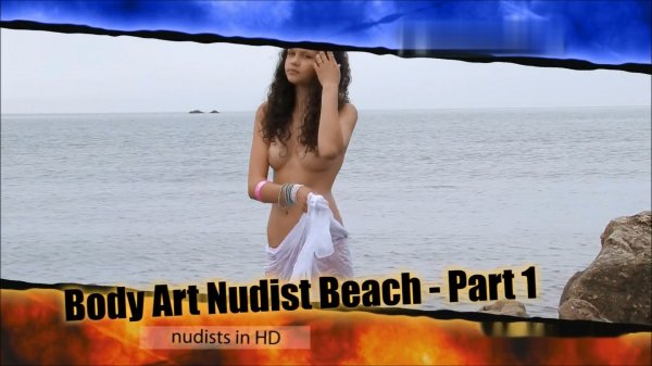 Body Art, nudist beach