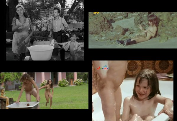 Сollection of fragments #39 (young naturism, naked boys, naked girls)