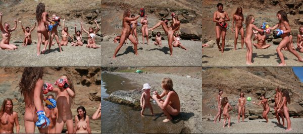 Day Of Rocky Sports 3 (family nudism, family naturism, young naturism, naked boys, naked girls)