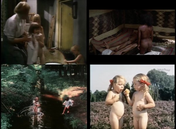 Сollection of fragments #47 (young naturism, naked boys, naked girls)