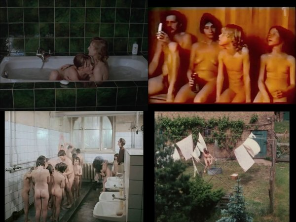Сollection of fragments #53 (young naturism, naked boys, naked girls)