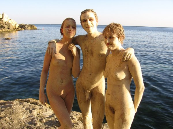 Hippie festival (naked boys, naked girls, nude beach)