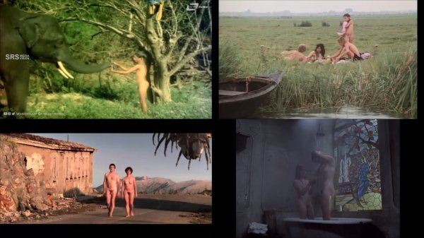 Сollection of fragments #59 (young naturism, naked boys, naked girls)