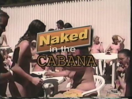 Naked in the Cabana
