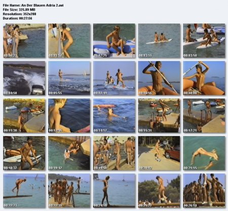 An Der Blauen Adria (family nudism, family naturism, young naturism, naked boys, naked girls)