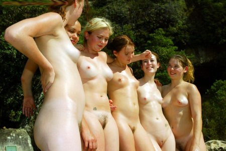 These are the girls from the nude beach