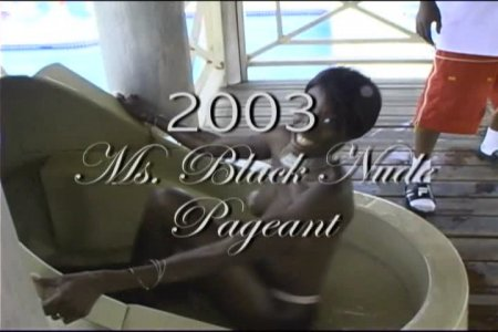 Miss Black Nude Pageant (Miss Exotic Show Contest)