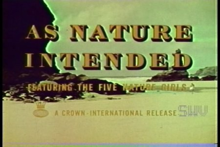 As Nature Intended (1961)