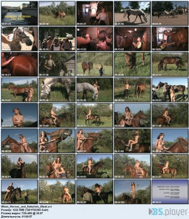 When Horses and Naturists Meet