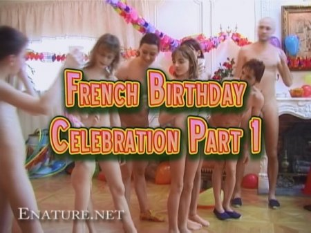 French Birthday Celebration Part 1